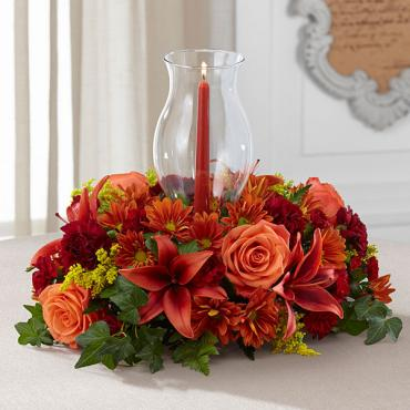 "The Heart of the Harvestâ""¢ Centerpiece"
