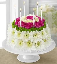 The Wonderful Wishes™ Floral Cake